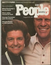 People Weekly Magazine August 26 Gerald & Betty Ford - $49.49