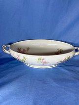 Haviland Limoges 27241 Floral White Vegetable Oval Serving Bowl Dinnerware - $19.99