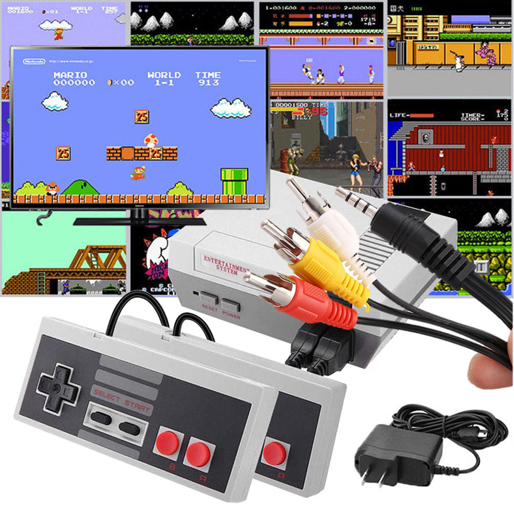 Ultimate Game Console 620 Built-in Classic NES Video Games Anniversary Edition - $29.89