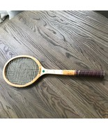 "Vintage Wilson ""Billie Jean King"" Capri Tennis Racquet: Wood Wooden. Cool! - $21.78"