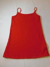Justice Girl's Youth Red Tank Top Camisole Spaghetti Strap Size 12 Pre-owned-- - $13.36