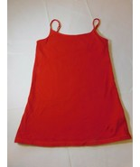 Justice Girl's Youth Red Tank Top Camisole Spaghetti Strap Size 12 Pre-o... - $13.36