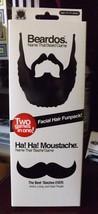Beardos Name That Beard Game & Ha! Ha! Moustache Name That 'Stache Game ... - $12.34