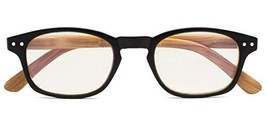 Bamboo-Look Arms Blue Light Filter UV Protection Computer Reading Glasse... - $14.92
