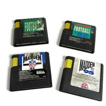 Lot of 4 Madden Football Sega Genesis Games  Carts only - $8.90