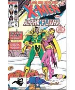 X-Men / Alpha Flight Comic Book #2 Marvel Comics 1985 VERY FINE- NEW UNREAD - $2.50