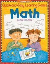 Quick-and-Easy Learning Games: Math (Grades 1-3) Scholastic Books; Mille... - $13.73