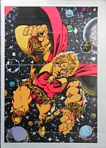 "THE MIGHTY WORLD OF MARVEL PIN-UP BOOK JIM STARLIN WARLOCK PLATE 15.5"" X... - $7.50"