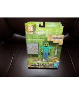 Jazwares Minecraft Overworld Core Zombie Action Figure with Accessory NEW - $16.60