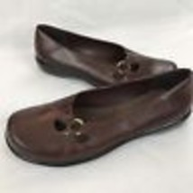 Clarks Women Shoe Size 6.5 Flat Mary Jane Loafer Round Toe Side Cut Out ... - $24.99