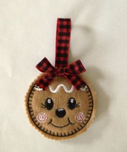 Christmas Gingerbread Girl Cookie Ornament - $3.75
