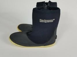 Hodgman Mens 7 Black Neoprene Outdoor Fishing River Wading Boot Water Sh... - $19.99