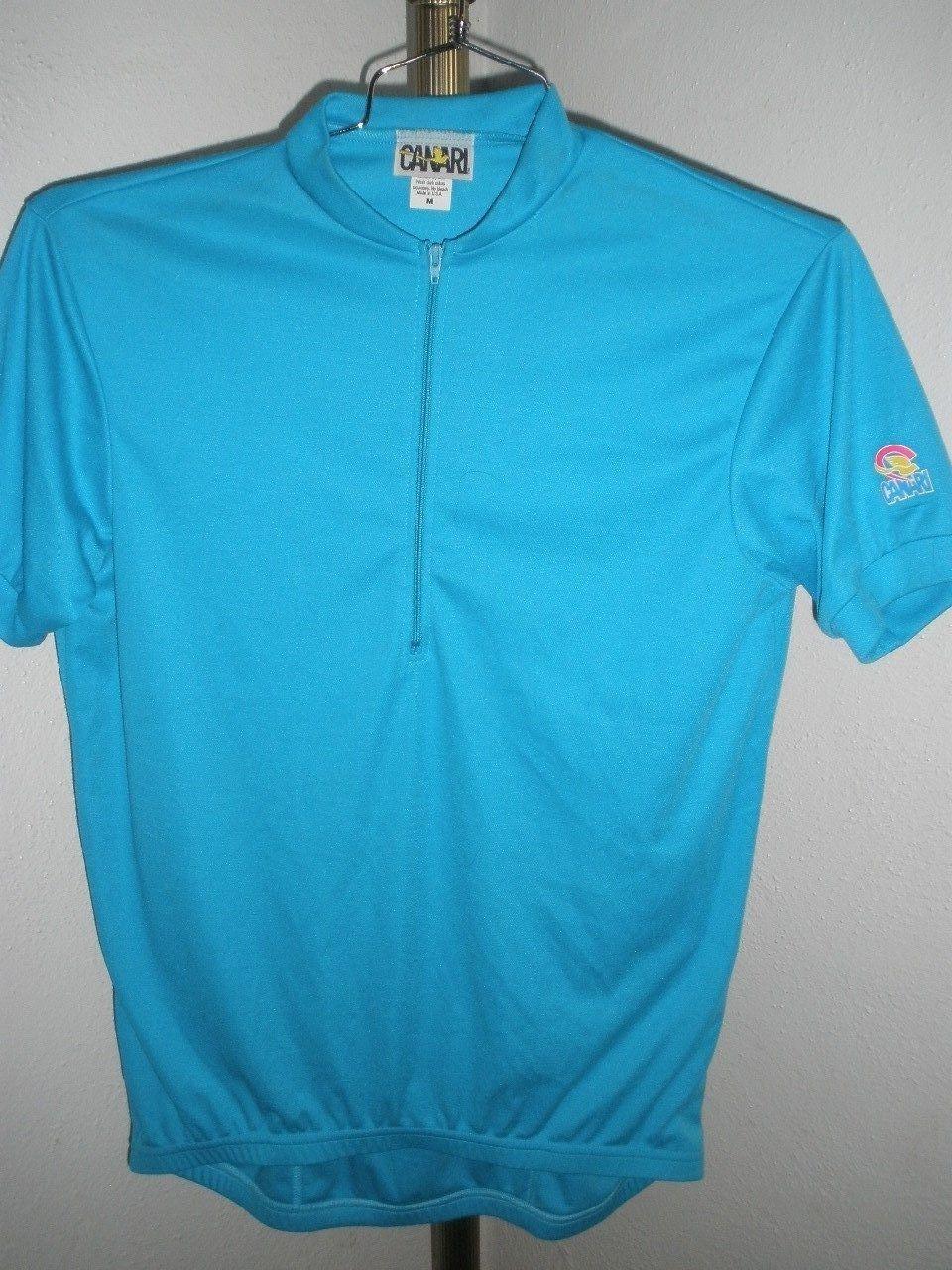 S l1600. S l1600. Previous. Men s Canari 1 2 Zip Softec Polyester Cotton Cycling  Jersey Capri Blue Sz Medium 1cd518185