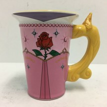 Disney Parks Princess Aurora Signature Collection Coffee Tea Mug 12 oz. EUC - $23.36