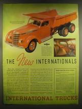 1937 International Harvester Trucks Ad - The new Internationals - $14.99