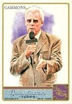 Peter Gammons trading card (Baseball Writer & Broadcaster) 2011 Topps Allen & Gi - $3.00