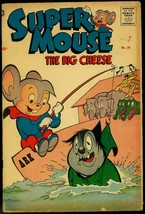 Supermouse The Big Cheese #36 1956- Funny Animals- Noahs Ark VG- - $37.83