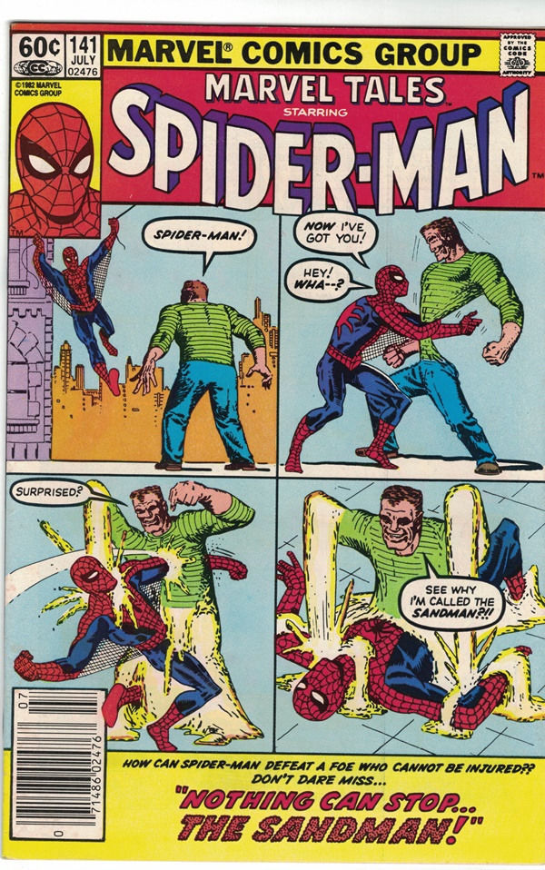 Marvel Tales Starring Spider-Man Comic Book #141 MARVEL, VERY FINE