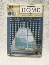 Simplicity Home 7256 Design Your Own Curtains Sewing Pattern - $8.90