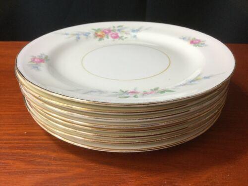 "10 Georgian Eggshell Cashmere Bread Plates 6"" Homer Laughlin image 2"