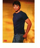 Tom Welling Outkast teen magazine pinup clipping blue shirt Smallvillie - $3.50