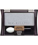Maybelline New York Expert Wear Eyeshadow Singles, Silver Lining 235 Shi... - $17.00