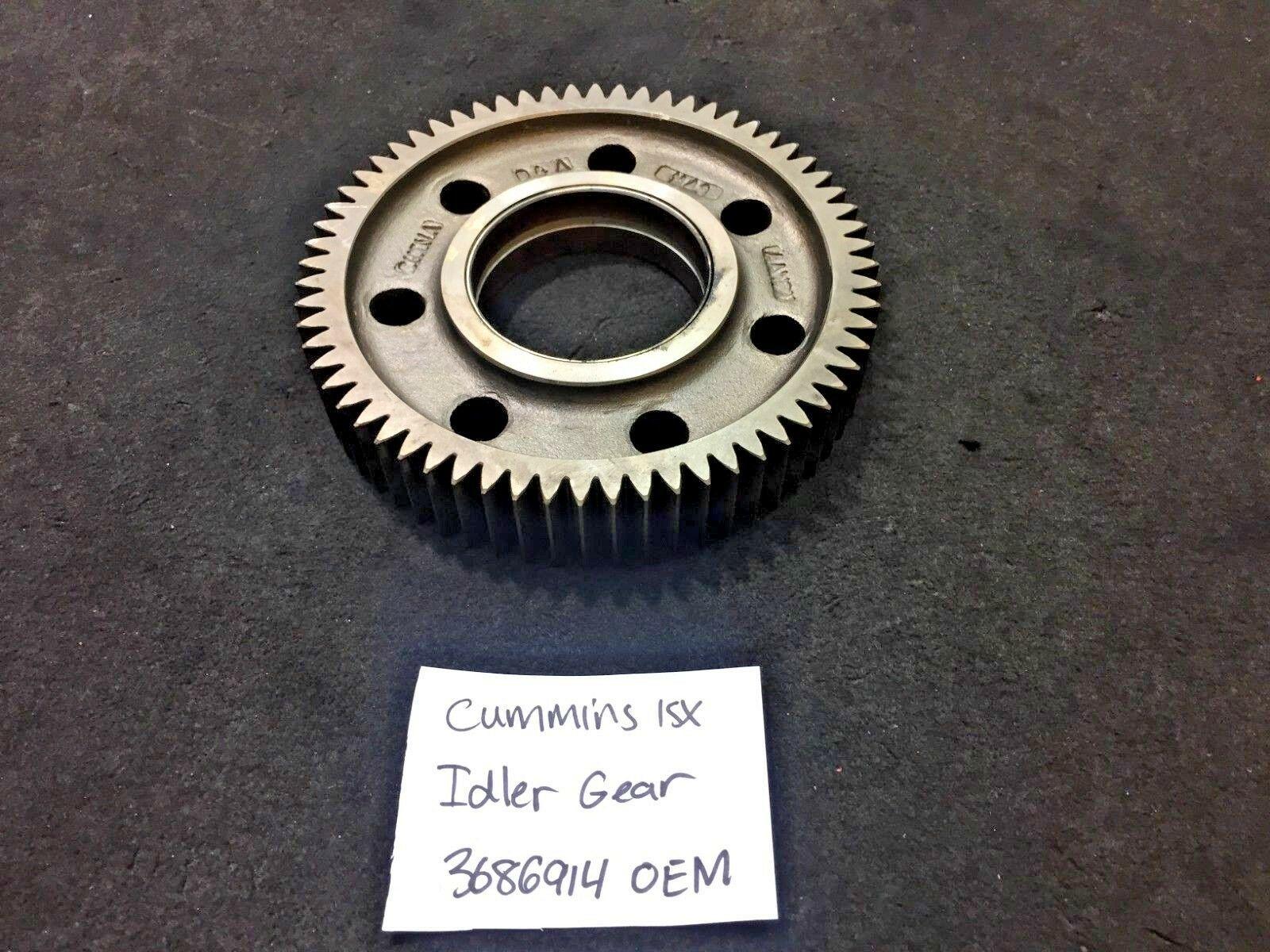 Cummins ISX15 DIESEL ENGINE IDLER GEAR 3686914 OEM