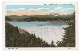 Nederland Dam Boulder Canon Canyon Colorado 1920s postcard - $6.00