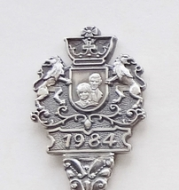 Collector Souvenir Spoon Prince Henry Sept 15 1984 Charles Diana - $6.99