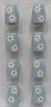 Pfaltzgraff Dazee Sky Salt & Pepper Shaker Set Mini Miniature Set of 4 N... - $24.74
