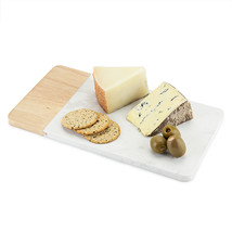 cutting cheese board, Dynamic Marble And Wood rustic serving elegant che... - $40.49
