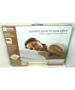 Jc Penny Home Comfort Zone Tri-Zone Pillow molded coils NIB ships fast! - $9.70