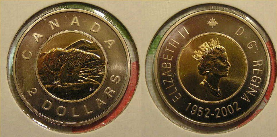 2003W CANADA LOONIE PROOF-LIKE ONE DOLLAR COIN
