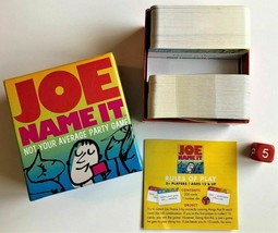 """Joe Name It - """"Not Your Average Party Game"""" - GameWright Ages 12+ - $6.68"""