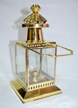 Vintage Brass Anchor Oil Lamp Nautical Maritime Ship Lantern Boat Home D... - £37.60 GBP