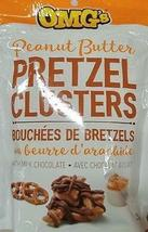 OMG's Peanut Butter Pretzel Clusters Chocolate 135g 8 bags a Canadian O... - $79.99