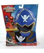 Blue Power Ranger Costume Child Age 3 to 6 Saban Super Megaforce Mask Ju... - $49.99