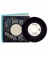 Hallmark Fathers Day Card with Blake Shelton Vinyl Record Plays Boys 'Ro... - $12.74