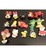 Lot of 15 Disney Characters Original Jibbitz Shoe Charms for Crocs - $39.60