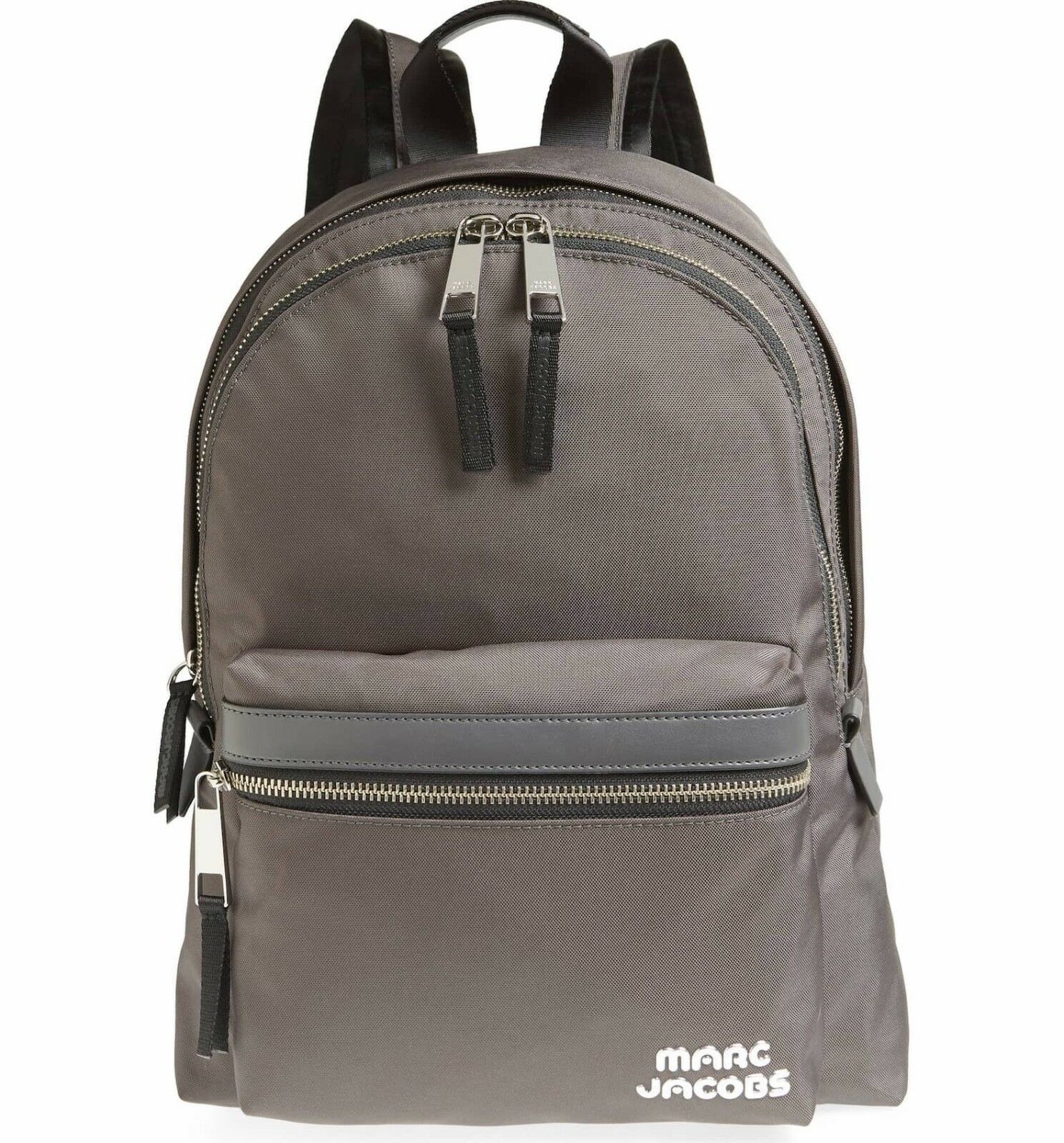 Primary image for Marc Jacobs Backpack Trek Pack Large Gray NEW