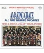 Amazing Grace and Other Bagpipe Favorites Cd - $11.50