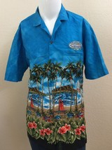 VTG Royal Creations Castaways Hotel Casino Las Vegas Hawaiian Shirt Mens... - $59.99