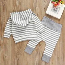 Newborn Baby Girl Boy Outfits Clothes Sweater Trousers Hooded T-shirt + ... - $28.72 CAD+