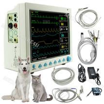Veterinary ICU patient monitor,VET Monitor 6 Parameters,Vital Signs Moni... - $494.01