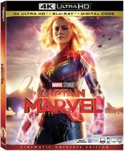 Captain Marvel [4K Ultra HD + Blu-ray + Digital, 2019]