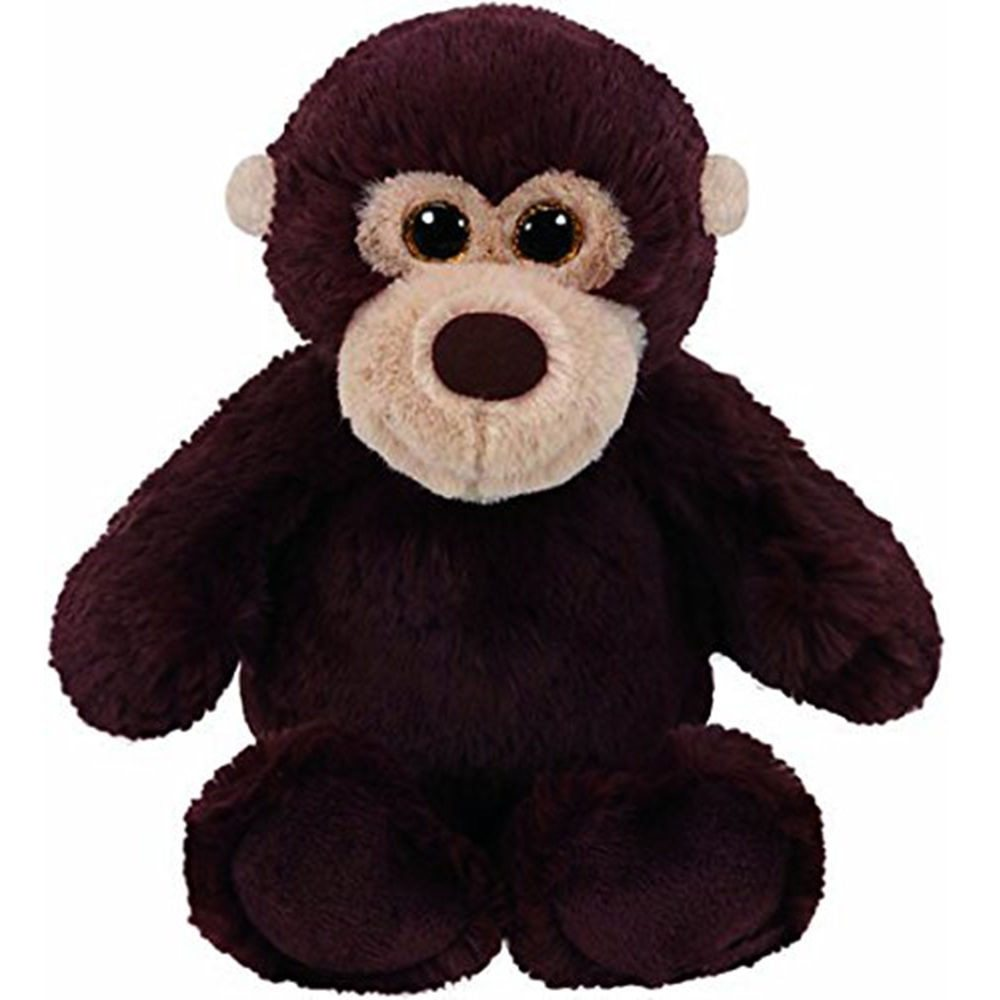 ty attic treasures 10 25cm mookie the monkey plush medium soft fluffy stuffed animal collection