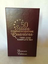 50 States Commemorative Quarters Set 1999-2005 Denver Edition  w Box - $65.00