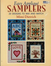 EASY APPLIQUE quilt patterns SAMPLERS 20 designs to mix and match  MIMI ... - $10.00