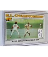 1977 Topps #277 NL Championship/Pete Rose : Cincinnati Reds (A) - $1.76