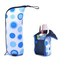 E Support Multifunctional Neoprene Toiletry Bag Travel Waterproof Makeup Storage - $9.89